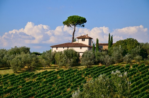 Villa for sale in Tuscany Italy